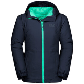 Jack Wolfskin Argon Storm Jas Kinderen, midnight blue